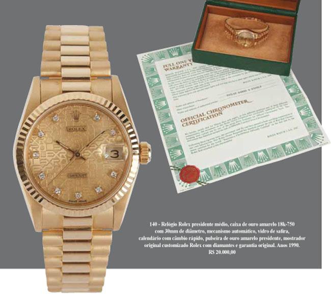 2757dd9314c Relógio Rolex presidente médio