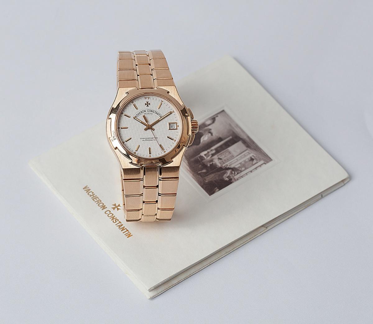 2518e8434f3 Relógio Vacheron Constantin Overseas