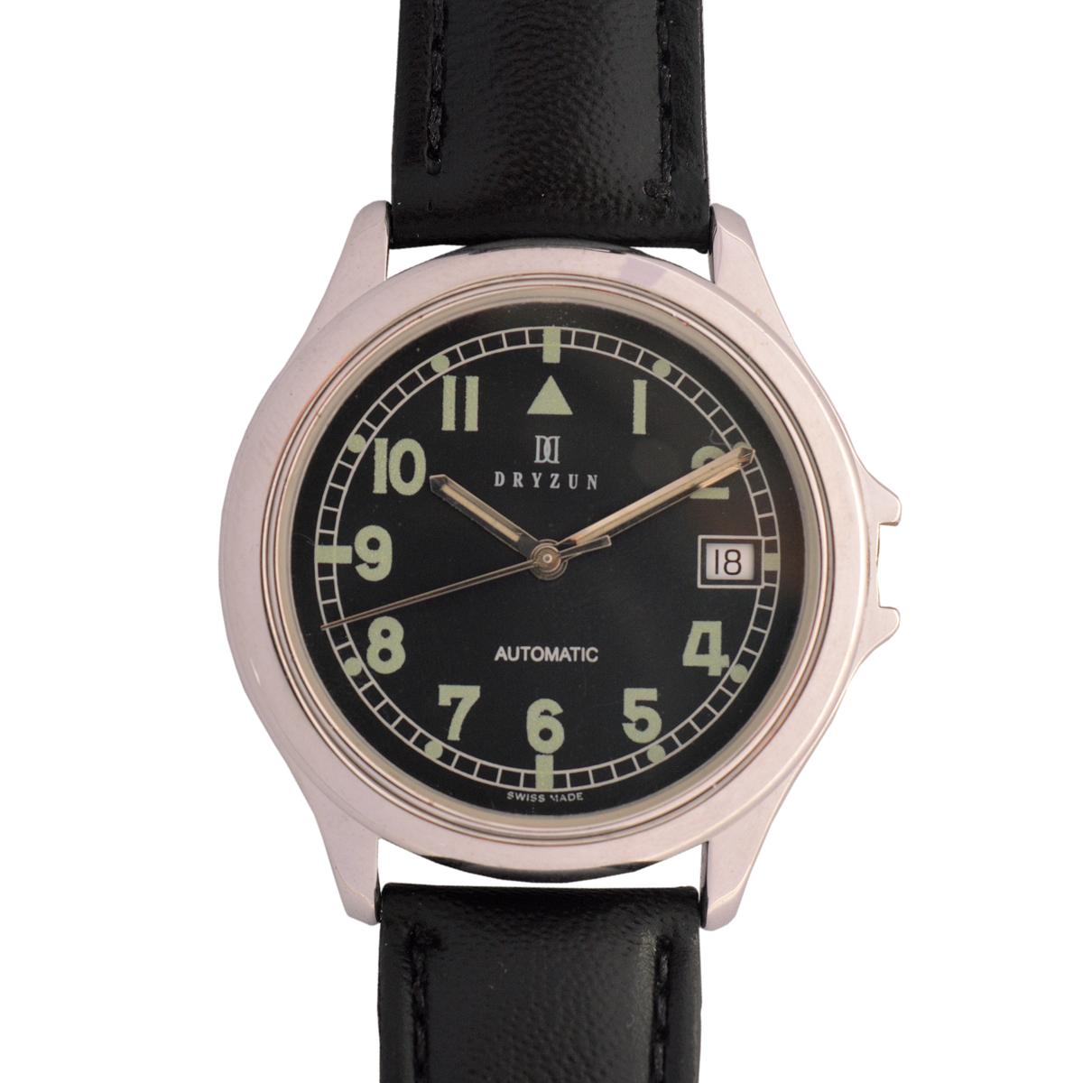 a7c82955e1f DRYZUN – Relógio de pulso masculino. Caixa em aço. Aut