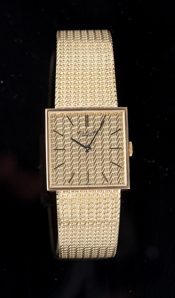 4e30f4b7882 Relógio PATEK PHILIPPE quadrado ref. 3430 12