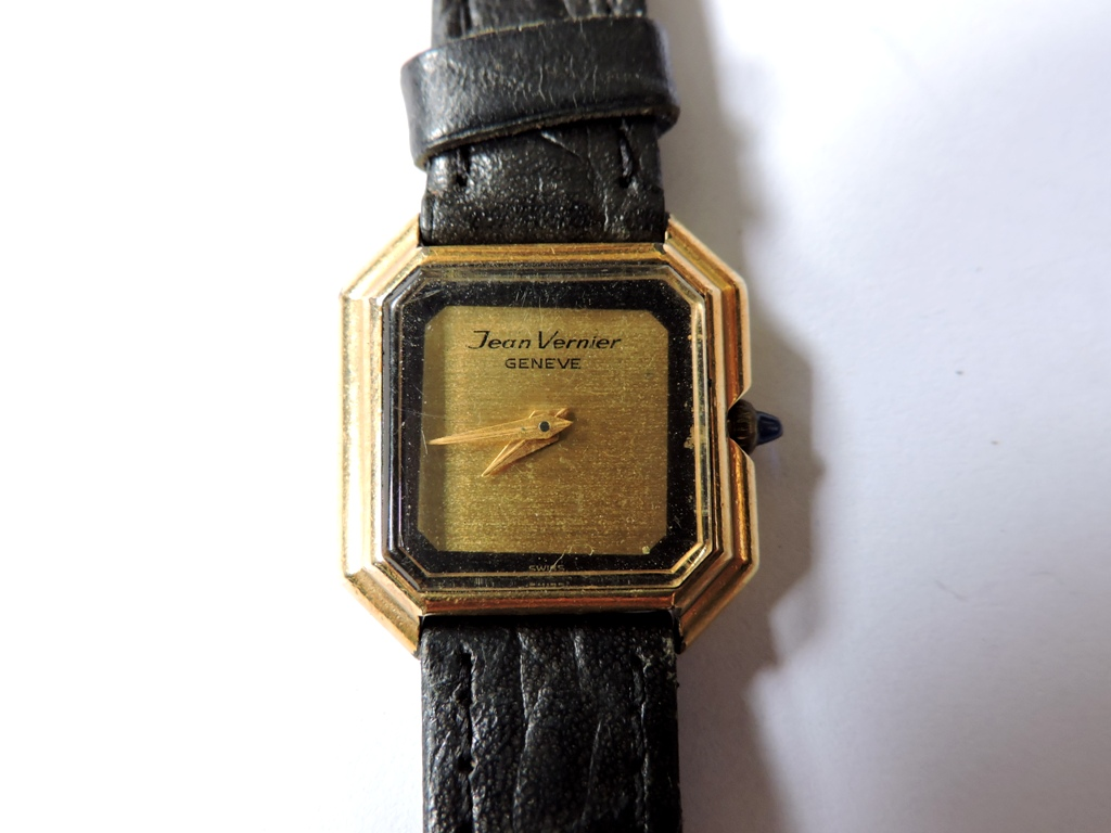 464b6e3678b Relógio feminino da marca `Jean Vernier`