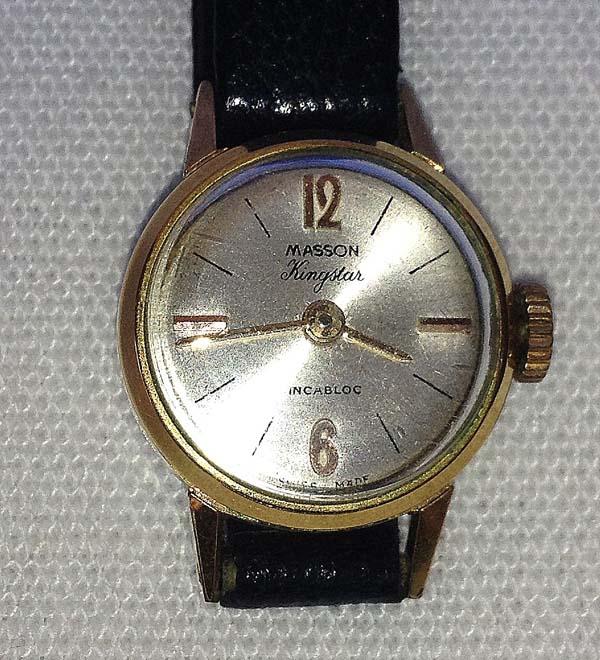 9e3dc56b953 Antigo Relógio feminino - MASSON KINGSTAR - Suíça ( sem