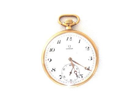 54d97b8dc86 Zoom. Lote 140. Carregando... Tipo  Relógio. Relógio de bolso suíço marca  Omega ...