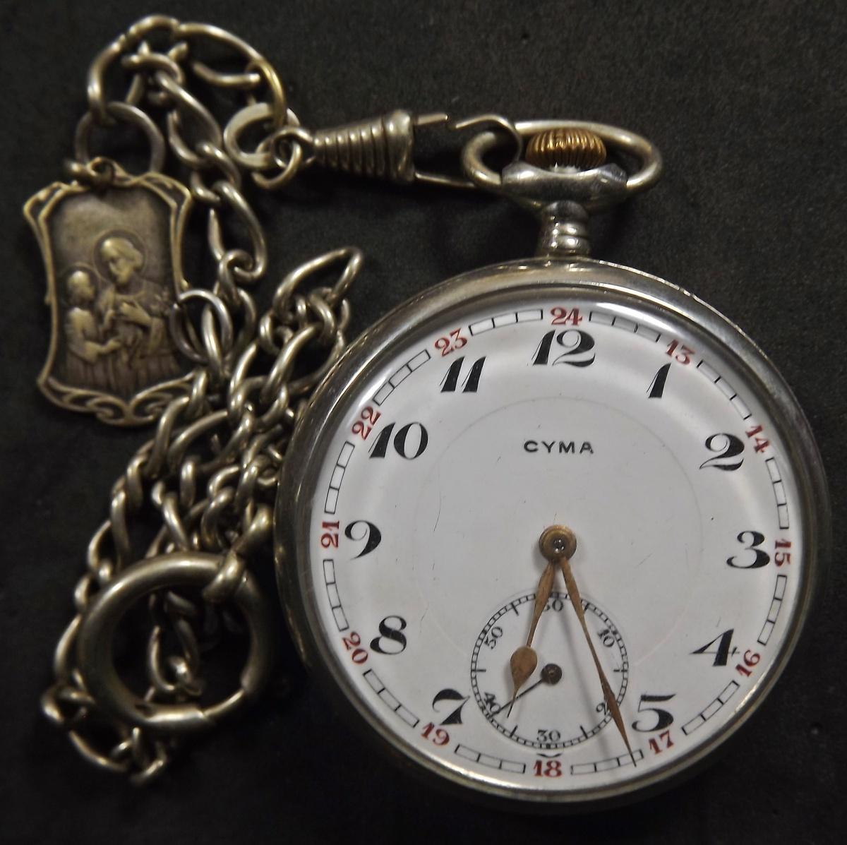 a7baed32eb1 Relógio de bolso Cyma