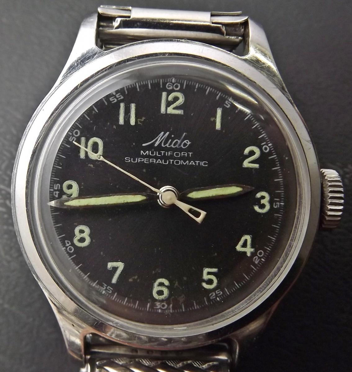 7fd8e3e256b Relógio Mido Multifort Vintage