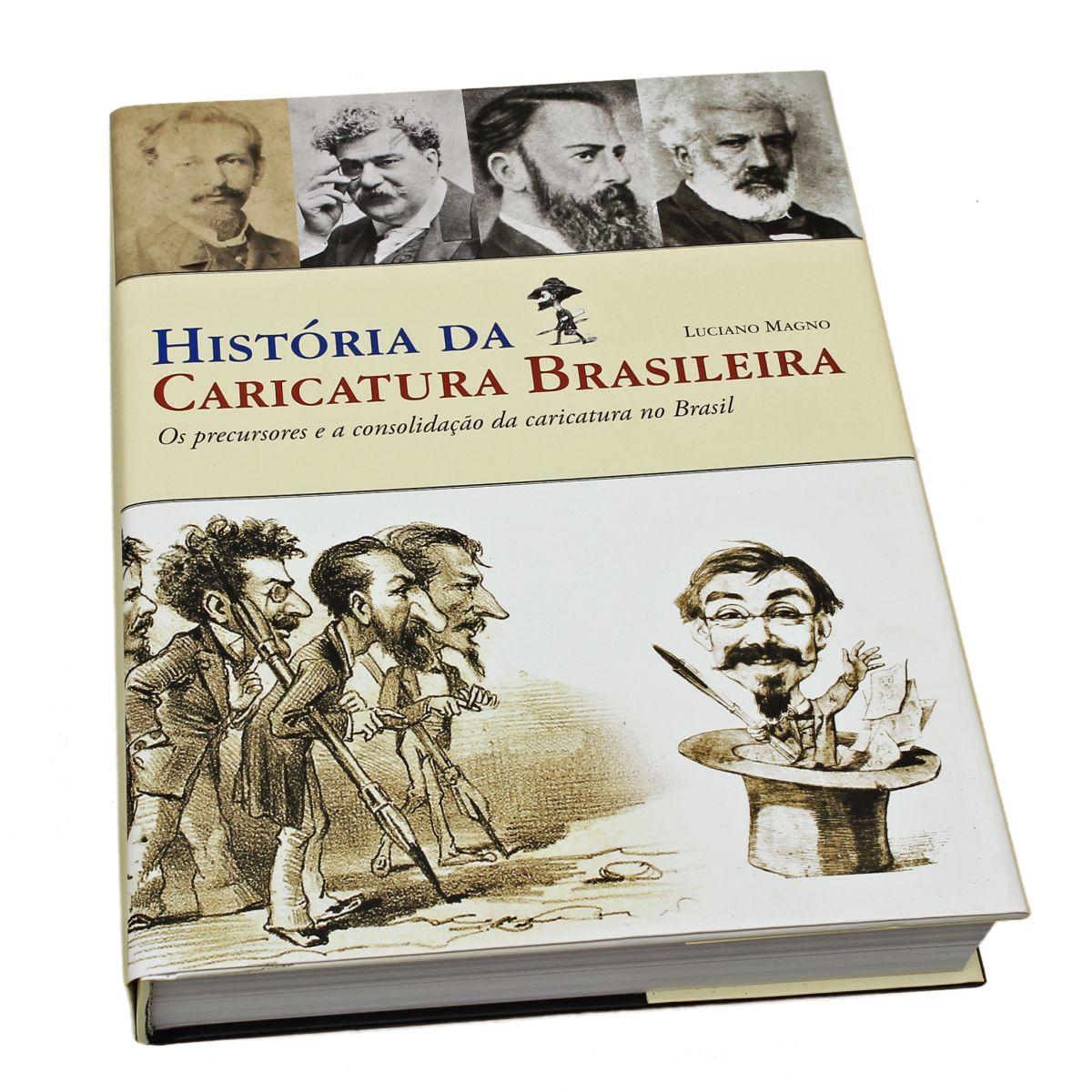 Livro Historia da Caricatura Brasileira