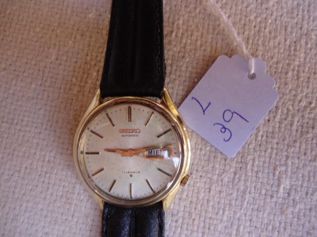 3e020309e9b Zoom. Lote 39. Carregando... Tipo  Relógio. Relógio Automático marca seiko  japão muito antigo ...