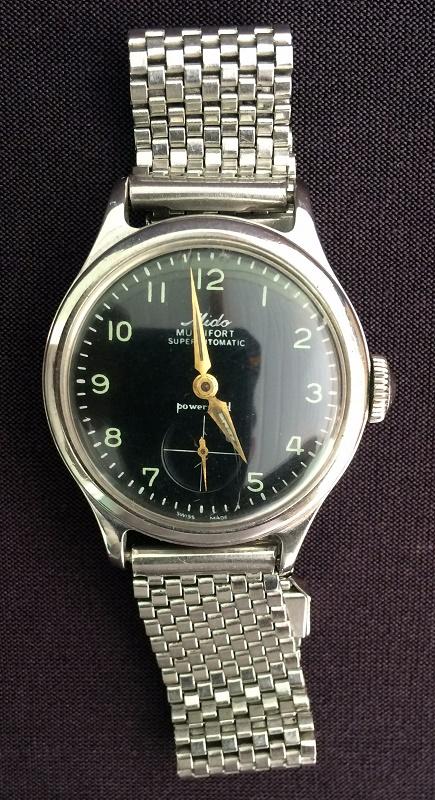 41f92e37d55 MIDO MULTIFORT- ANOS 60- Relógio masculino FUNCIONANDO