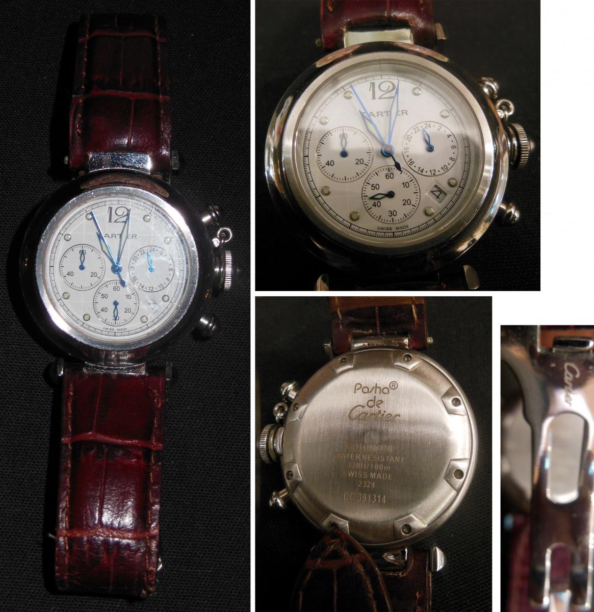 ae3d24962ca Réplica Relógio Cartier Pasha