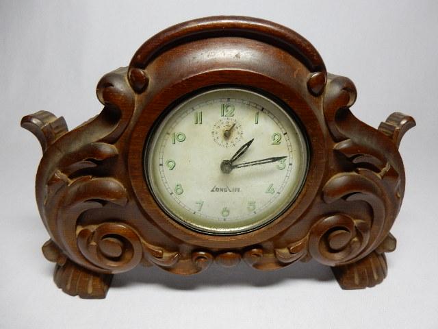 0eabd15b2c5 Antigo Relógio despertador LongLife montando em magnifi