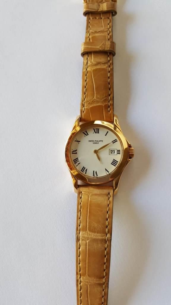 39103520ba0 Relógio em ouro 18 K da marca