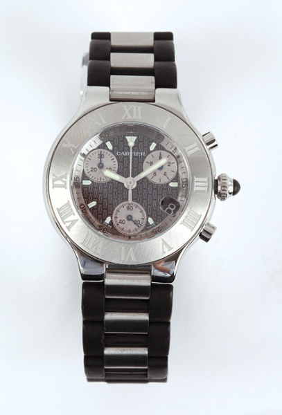 b81ceca6e12 Relógio Cartier Chronoscaph 21