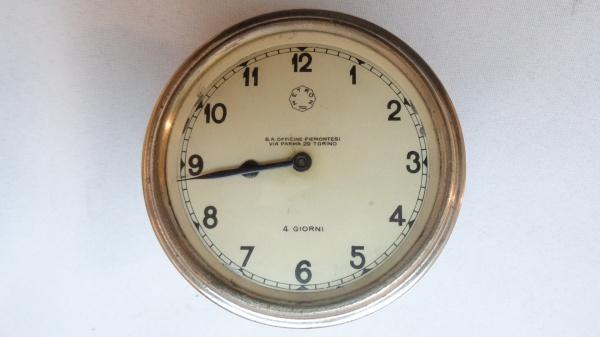 000ced291f6 Antigo relógio italiano para painel de automóvel