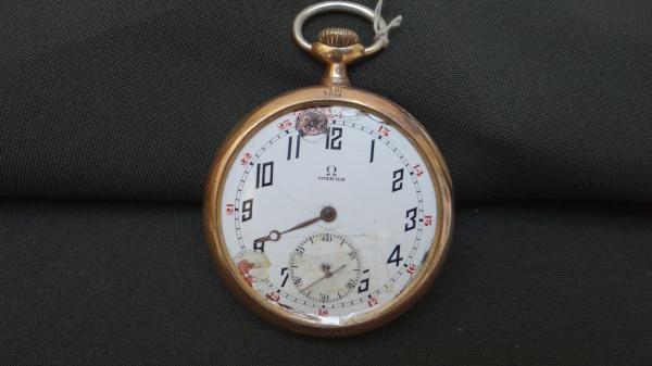 416b8e4fbb4 Antigo relógio de bolso Gladiator