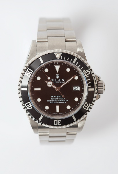 0abeb4d94a1 Relógio Rolex Submarino Seadweller- 1220 metros