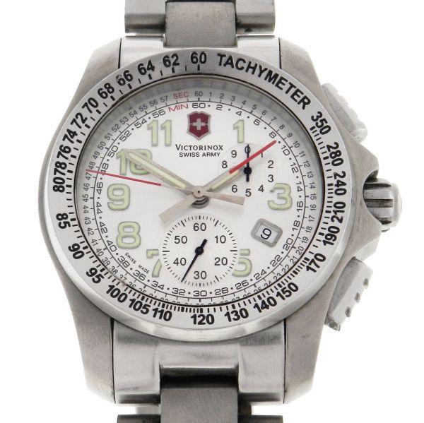 00642fe1e05 Relógio Victorinox Swiss Army - Ground Force Chronograph Titanium - Caixa  em titânio - Pulseira em aço - Tamanho da caixa 45mm - Funções  Horas