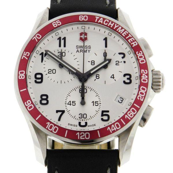 92fde11e09b Relógio Victorinox Swiss Army Chrono Classic - Caixa em Aço - Pulseira em  Couro - Tamanho da caixa  41 mm - Funções  Horas - Minutos - Segundos - .