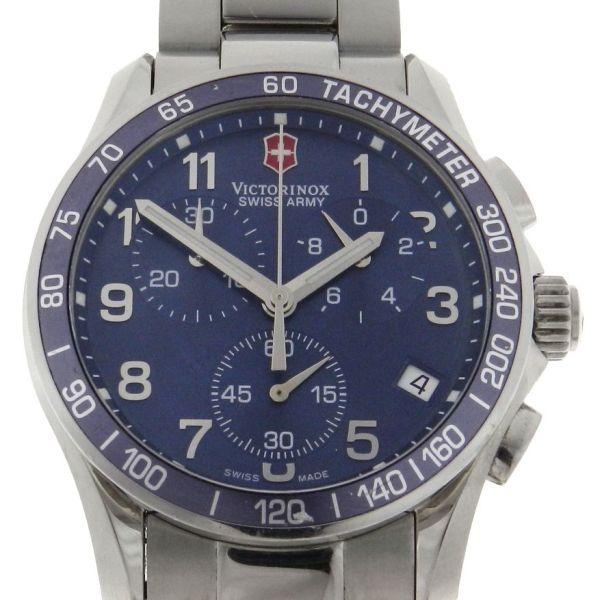 e6303b9f380 Relógio VictorInox Swiss Army Chrono - Caixa em Aço - Pulseira em Aço -  Tamanho da caixa  41 mm - Funções  Horas - Minutos - Segundos - Calendário  - .