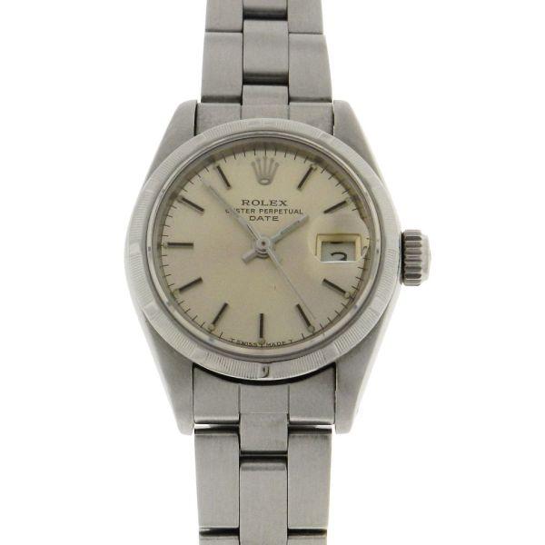 c1392abb09f Relógio Rolex Oyster Perpetual Date - Caixa e pulseira em aço - Tamanho da  caixa  26mm - Funções  Horas