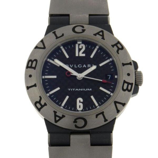 1c4248b49b1 Relógio Bulgari Bvlgari Diagono Titanium - Caixa em titânio - Pulseira  titânio e borracha - Tamanho da caixa 38mm - Funções  Horas