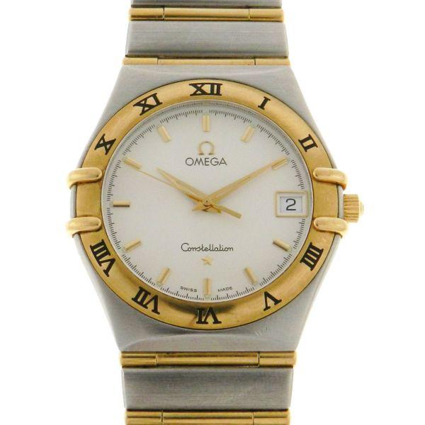 f5119e7d674 Relógio Omega Constellation Cindy Crawford - Caixa em Aço e ouro - Pulseira  em Aço e ouro - Tamanho da caixa  33.5 mm - Funções  Horas - Minutos - .