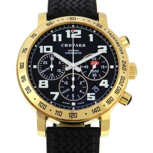 a77948e30e0 Relógio Chopard 1000 Mille Miglia Chronograph - Caixa em ouro amarelo 18k -  Pulseira em borracha - Tamanho da caixa 42mm - Funções  Horas
