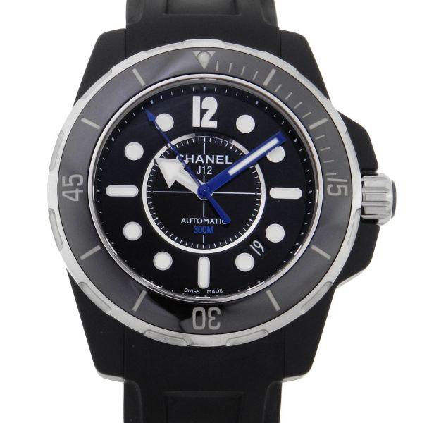 b5a0eb5a1e3 Relógio Chanel J12 Marine - Ceramic - Caixa em cerâmica - Pulseira em  borracha - Tamanho da caixa  42mm - Funções  Horas