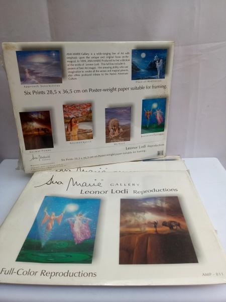 d51d6bdd9 Lote composto de 5 Kits contendo 30 Imagens Reproduzidas a Cores, p/  Emoldurar, Ana Marie Gallery, que produziu a 1ª Coleção dos Trabalhos de  Leonor .