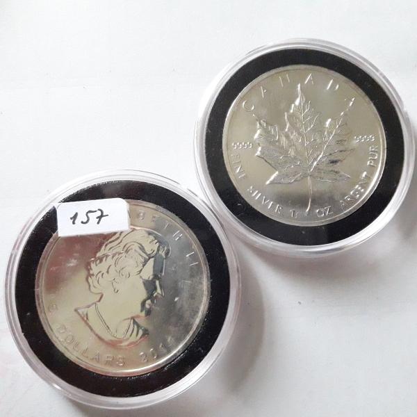 157  Numismática  Moeda Prata