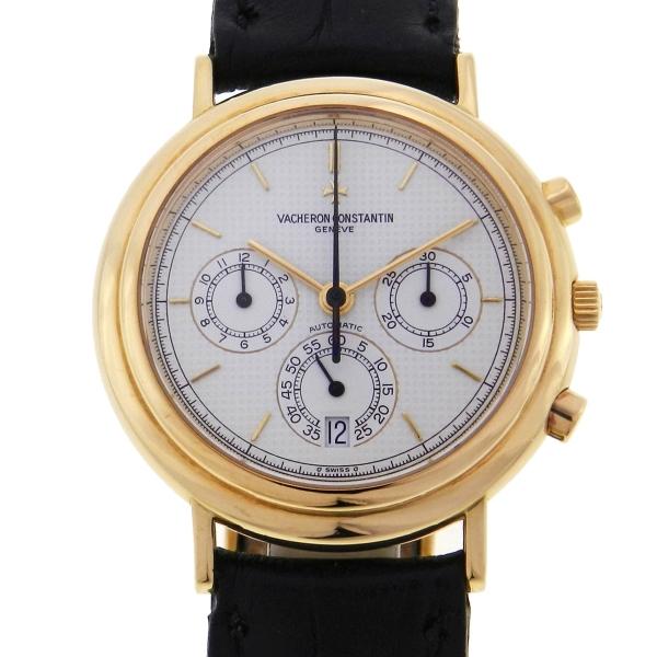 740d6675f4d Relógio Vacheron Constantin Historique Chronograph - Referencia 49003 -  Caixa em ouro amarelo 18k 750 - Pulseira em couro - Tamanho da caixa  38mm  ...