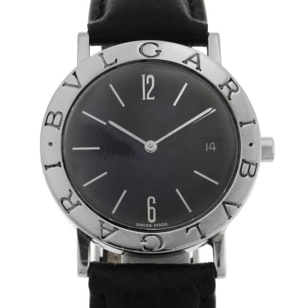 7a46246e266 Relógio Bulgari Bvlgari - Numero 4 - Caixa em aço - Pulseira em couro -  Tamanho da caixa 33mm - Funções  Horas