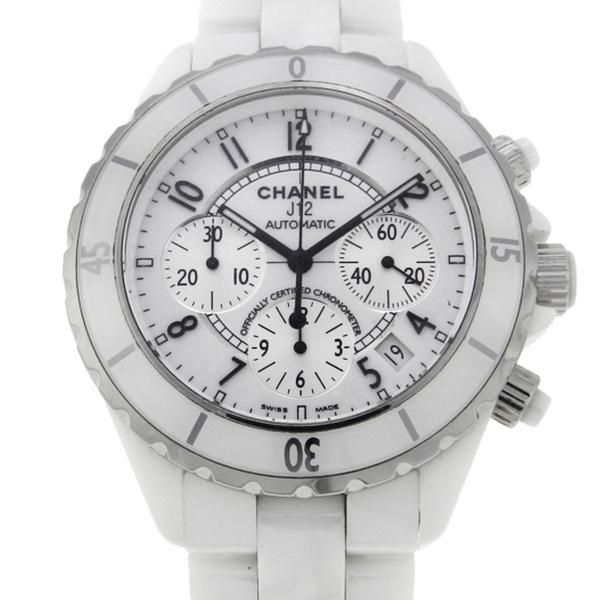 f8c2c541452 Relógio Chanel J12 - Caixa e pulseira em cerâmica - Tamanho da caixa 41mm -  Funções  Horas
