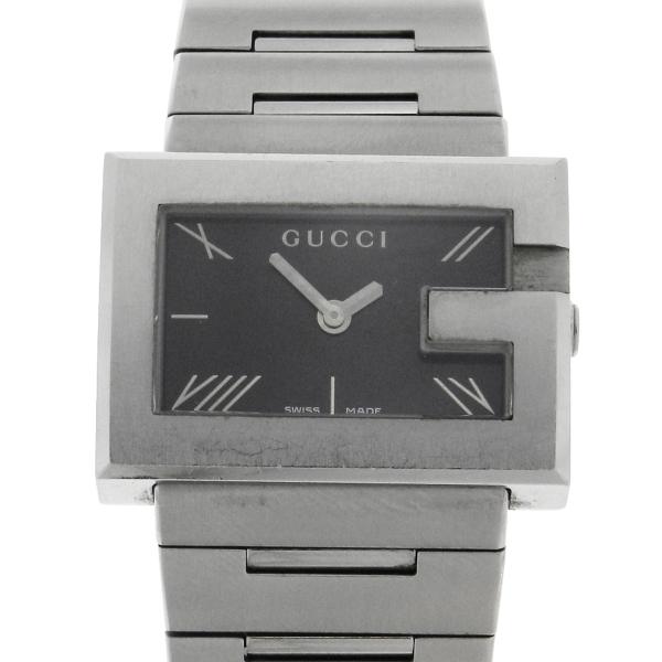 6bce7ecdbda Relógio Gucci 100L - Caixa e Pulseira em aço - Tamanho da caixa 31mm -  Funções  Horas e Minutos - Movimento quartz - Visor em cristal de safira -