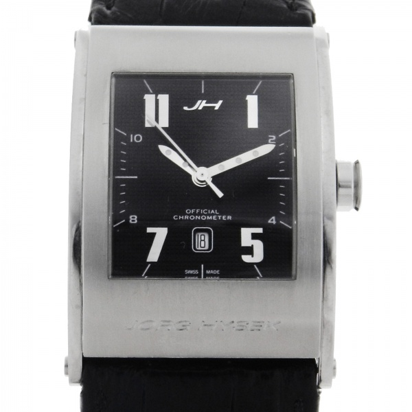 d93959fb9f4 Relógio Jorg Hysek Kilada - Caixa em aço - Pulseira em borracha. Tamanho da  caixa 28mm x 45mm - Funções  Horas