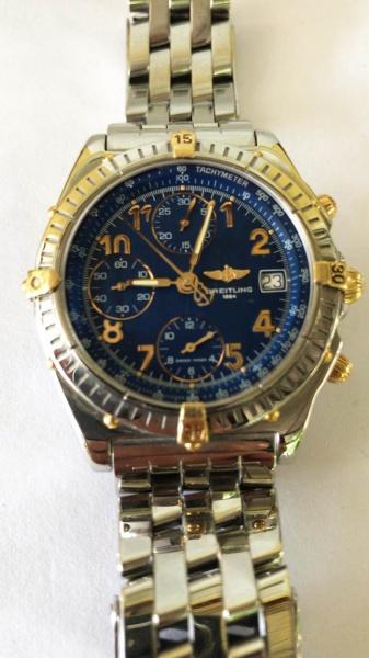 35c5f15fade Relogio Breitling Chronograph Crono  Diógenes Automátic