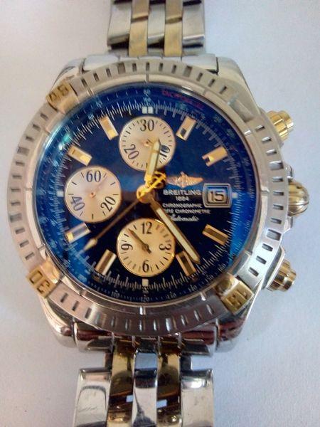 0a42e88455d Relógio Breitling 1884 cronographe certifie chronometre
