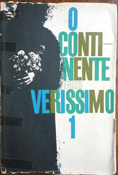 """Érico Veríssimo, livro """"O Continente  autografado"""", editora Globo, ano 1962. Livro autografado com dedicatória para seu editor em 10-11-1962"""