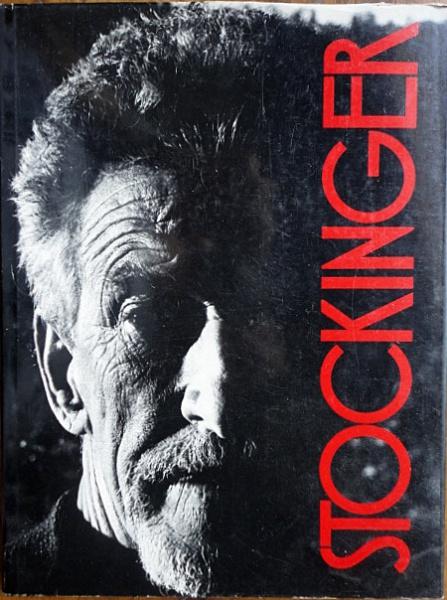 """Livro """"Stockinger"""", editora Margs, ano 1987. Livro em ótimo estado, capa dura com sobrecapa, formato grande, 144 páginas."""