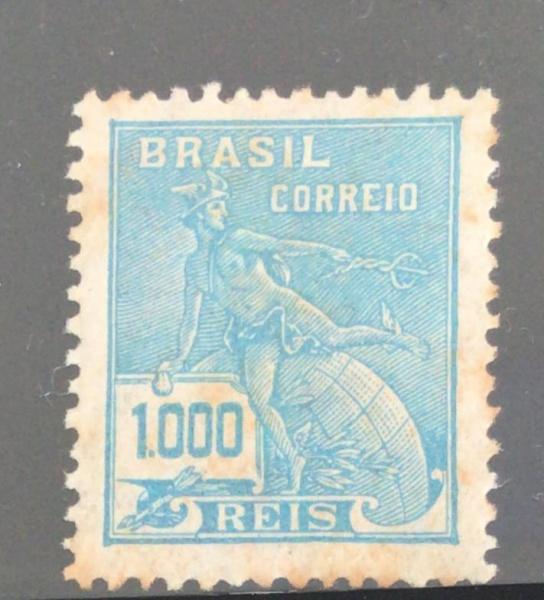 SELO DO BRASIL - VOVÓ FILIGRANA CRUZEIRO - RHM-289 - NOVO - 115 UF
