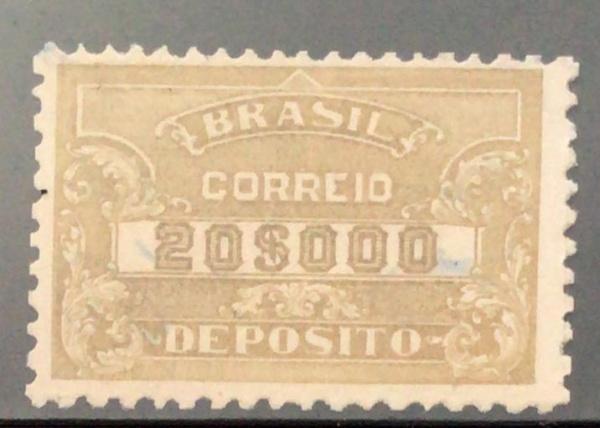 SELO DO BRASIL - DEPOSITO - RHM 73 ES - USADO