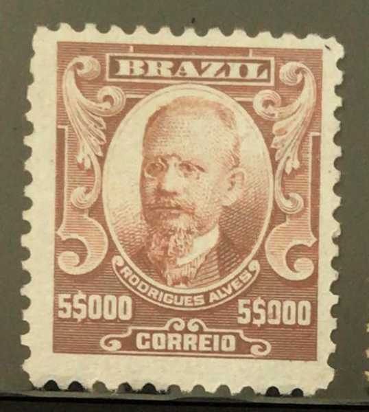 SELO DO BRASIL - ALEGORIA - RHM-152 - NOVO