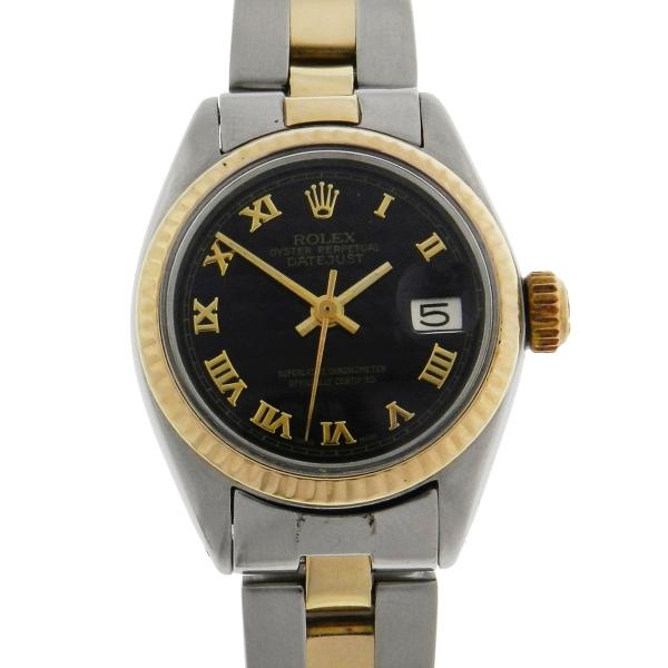 c27cbb9911a Relógio Rolex Oyster Perpetual DateJust - Caixa aço e ouro 18k 750 -  Pulseira .