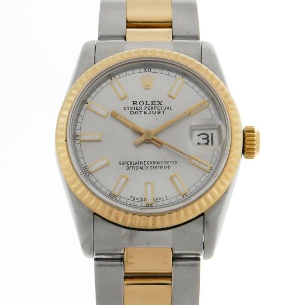 4d9b4f4f962 Relógio Rolex Oyster Perpetual DateJust Safira - Caixa aço .