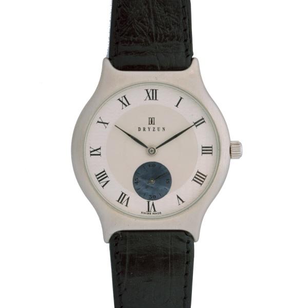 8306eb500c2 DRYZUN – Relógio de pulso masculino. Mecânico. Pulseira em couro. Mostrador  de madrepérola guilhochada.