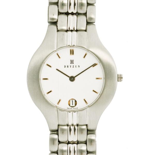 b6d5784f8f6 DRYZUN – Relógio de pulso masculino. Caixa e pulseira em aço. Quartz.  Calendário. Vidro safira.