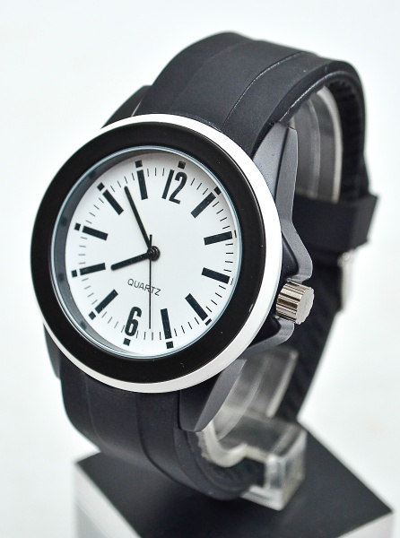 ca5175ca376 Lindo relógio unissex com design contemporâneo