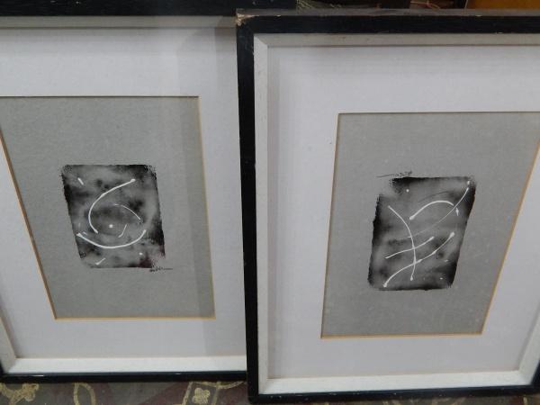 9e195d293 Par de quadros . Medidas   32 x 22 cm.