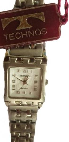 48c250dc577 Belo relógio Technos design exclusivo em aço diferenciado pulseira em aço .