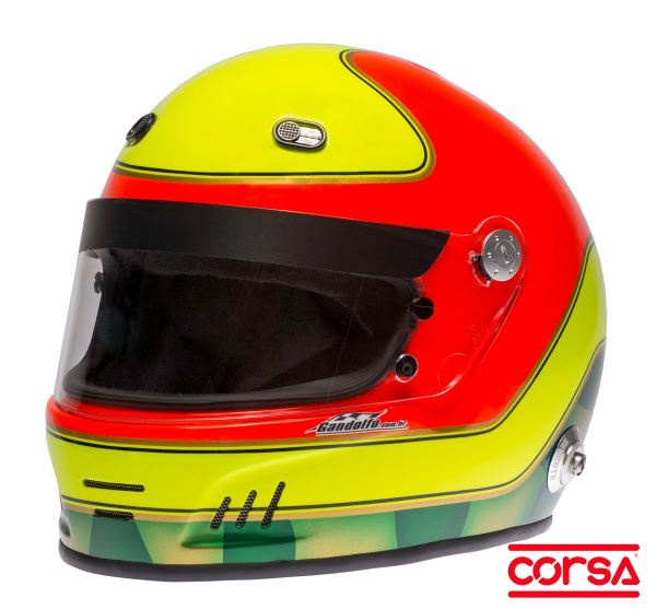 Ingo Hoffmann   Paulo Gandolfo - Capacete para Kart e Automobilismo em  composto . 02752b1120d2d