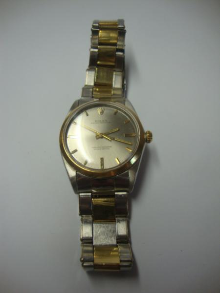 92a011816a6 Peça. Visitas  1514. Tipo  Relógio. ROLEX Oyster Perpetual - Belo e Antigo  ...